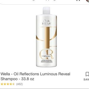 Wella professionals oil reflections shampoo